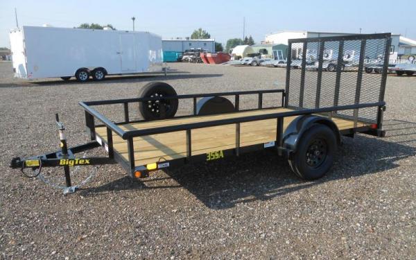 Big Tex 35SA-10 Single Axle Utility Trailer