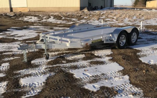 2018 Aluma 7814 R Aluminum Utility Trailer #7519