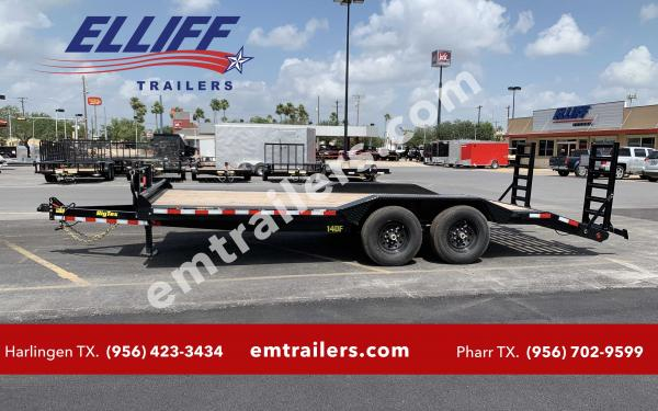 Big Tex 14DF  Heavy Duty Drive-Over Fender Equipment/Car Hauler