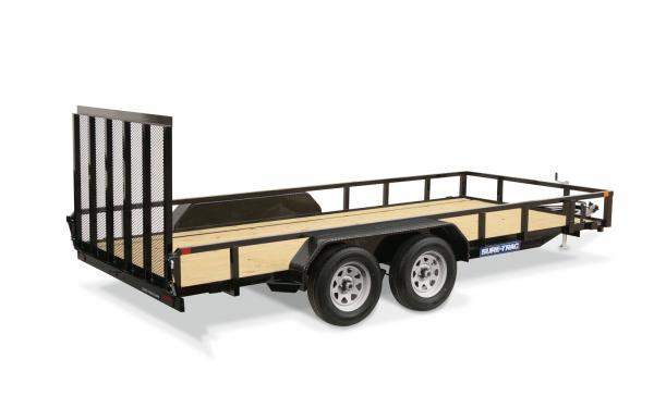 Sure-Trac 7x16 Tube Top 7k Utility Trailer