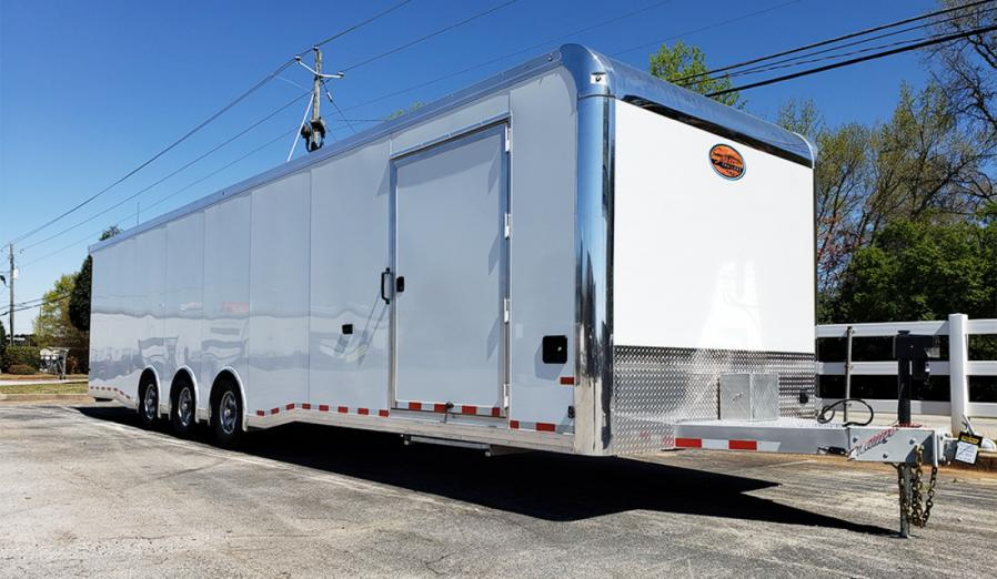 2020 All Aluminum 8.5 x 32 Sundowner Race Trailer Loaded $38,790.00