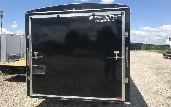 Stealth cargo trailer