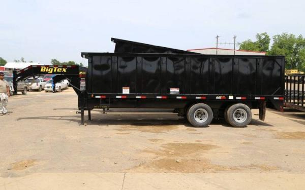 "25DU-20  Big Tex Tandem Dual Dump Trailer 92""x20'"