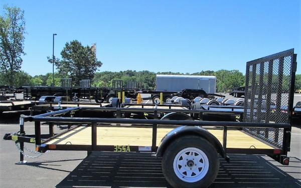 "Big Tex 35SA 77"" Wide Single Axle Utility 12'"