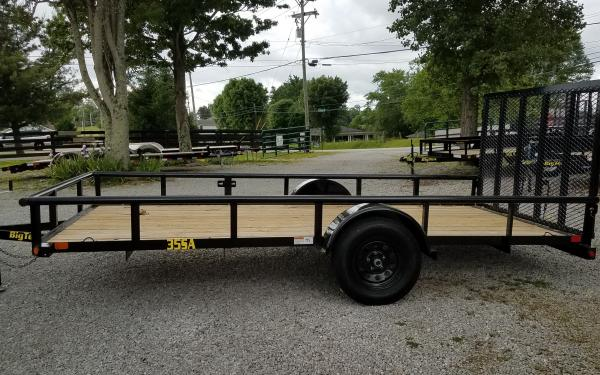Big Tex 35SA Single Axle Utility 14' - 35SA-14