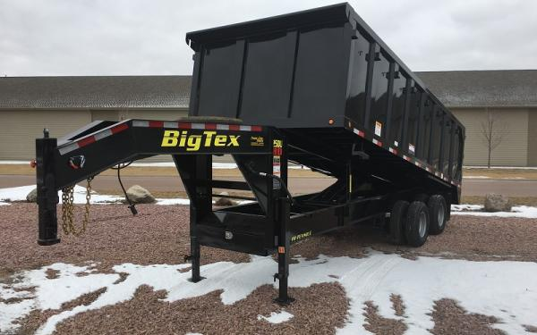 2018 Big Tex 25DU-20 Gooseneck Dump Trailer #9642