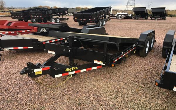 2018 Big Tex 14FT-20 Full Tilt 20' Equipment Trailer #0773