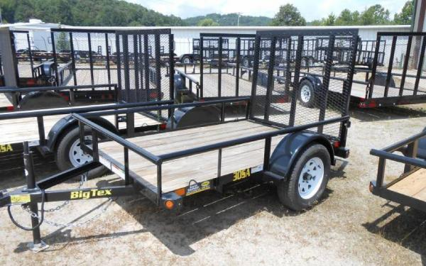 "Big Tex 30SA 60"" Wide Single Axle Utility 10'"