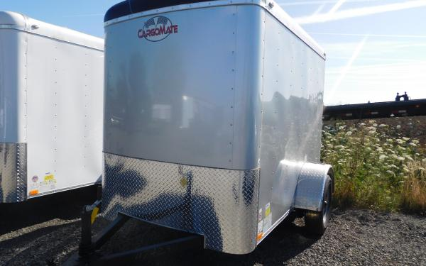 Cargo Mate BL58SA Blaser 5' x 8' Cargo Trailer with Ramp Door