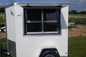 5x6 Single Axle Concession Trailer  by Lark Trailers