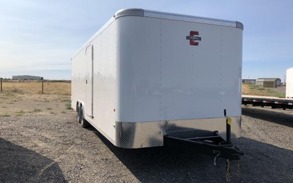 Charmac Stealth CH24 8 X 24 Dual Axle Cargo Trailer