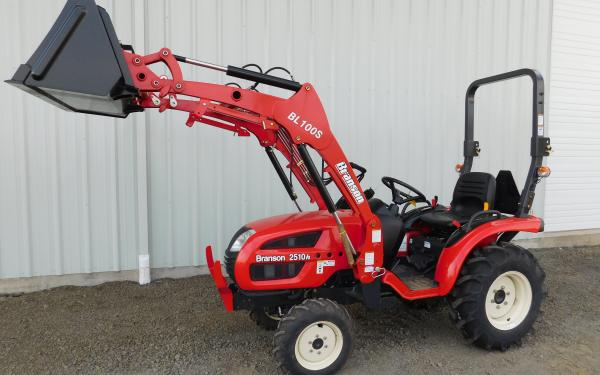 24HP Branson 2510H Tractor with Front End Loader