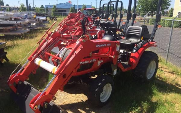 Branson 2400H Tractor with Front End Loader