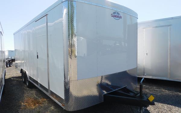 "Cargo Mate BL822TA2 8' X 22"" Cargo Trailer with Ramp Door"