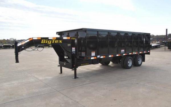 Big Tex 25DU Tandem Dual Gooseneck Dump 20'