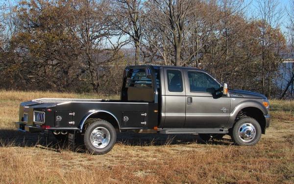 CM Truck Bed ER Model Steel Skirted Hauler Body