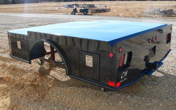 CM Truck Bed SK Steel Utility Body