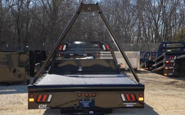 CM Truck Bed GP Model Steel Gin Pole Body
