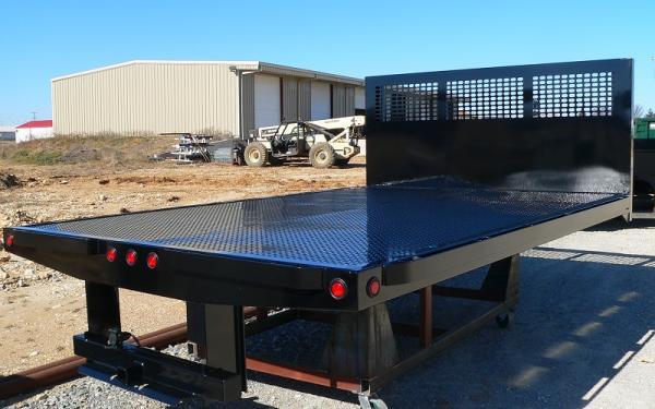 CM Truck Bed PL Model Steel Platform Body