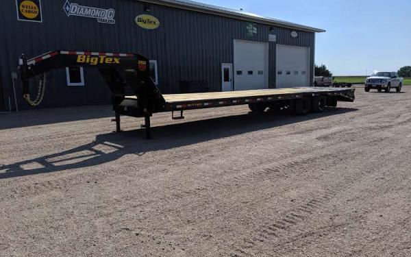 Big Tex 22GN 30+5 MegaRamps with Slidetrack
