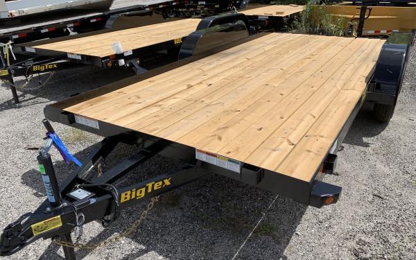 """Big Tex 60EC 83"""" x 14 Economy Tandem Axle Car Hauler"""