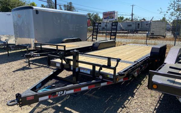 PJ Trailers 7'x20' Equipment Tilt  16k