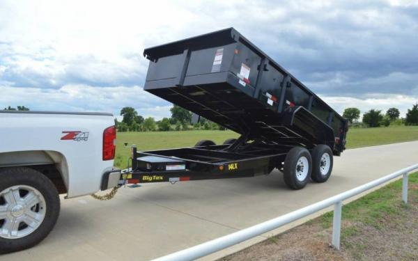 "14LX-83""x16' Big Tex Low Profile Dump Trailer"