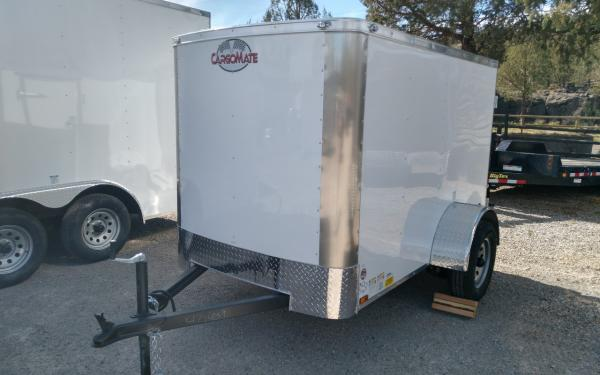 Cargo Mate BL58SA Blaser 5' x 8' Cargo Trailer with Ramp Door