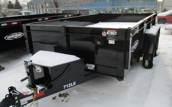 12K Tandem Axle Dump Trailer 7x12