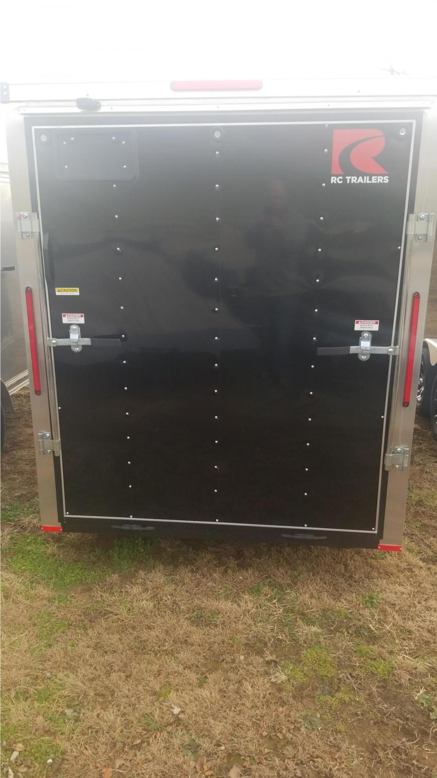 6 x 14 Single Axle FLAT TOP WEDGE ENCLOSED TRAILER BY RC Trailers
