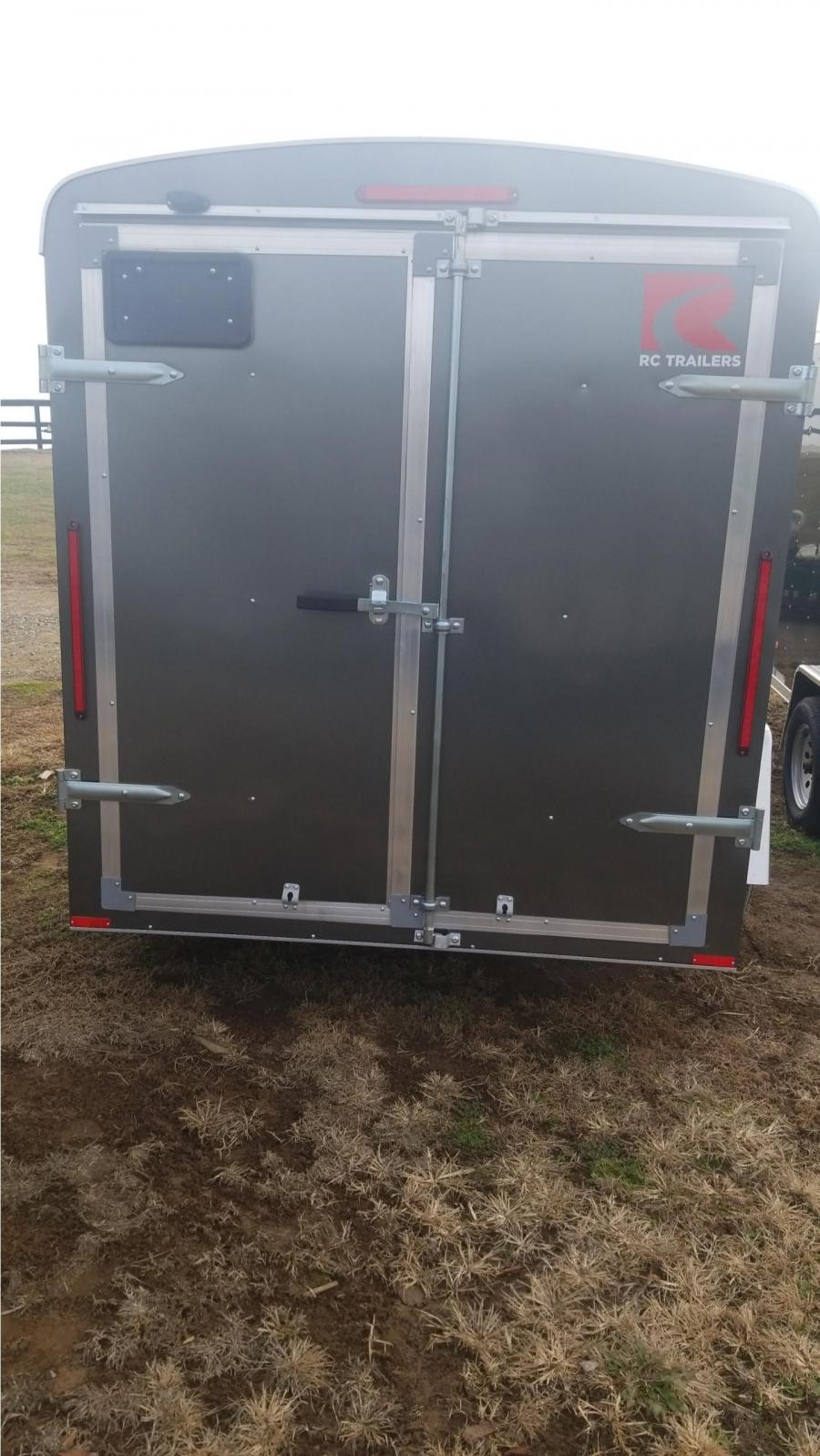 6 x 10 Single Axle  Round TOP ENCLOSED TRAILER BY RC Trailers