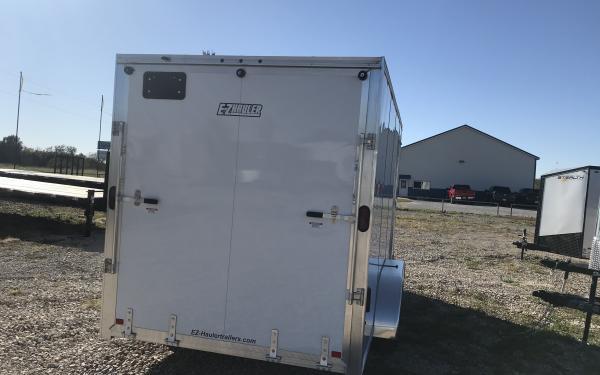 Aluminum cargo trailer