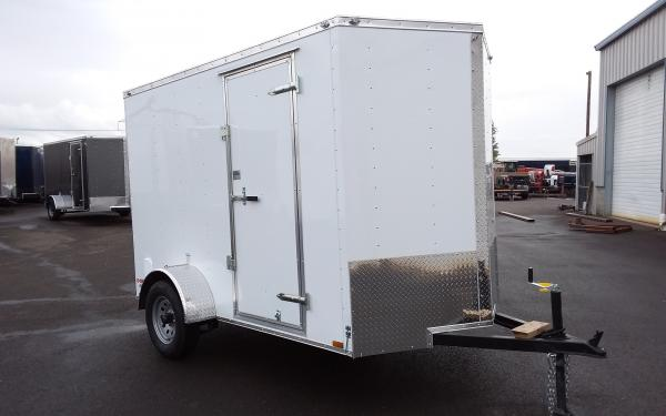2020 Cargo Mate EHW610SA 6 x 10 Single Axle Enclosed Trailer