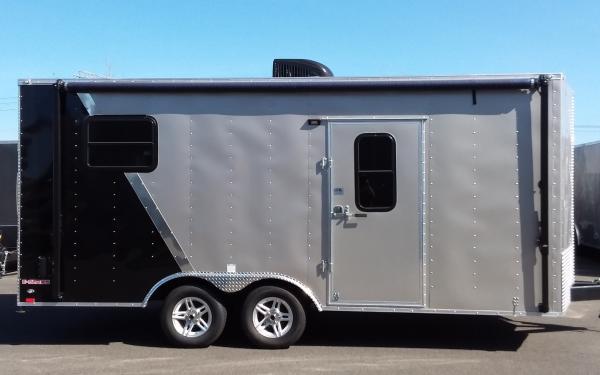 2019 Cargo Mate EHWA8518TA2 8.5 x 18 Tandem Axle Enclosed Trailer