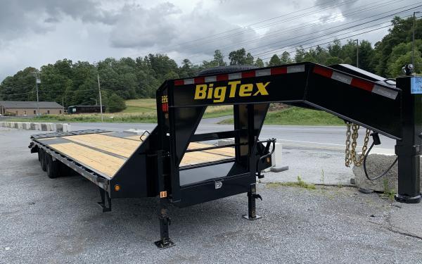 Big Tex 22GN 22,500#,TD,GN,102x 25 +5 Lo Pro,DT,MegaRamps,Black