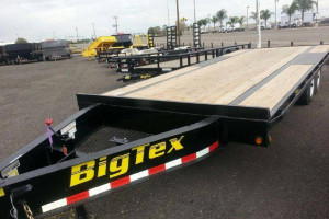 trailer world big tex deck over equipment trailer 8x16 to 8x20 rh bigtextrailerworld com