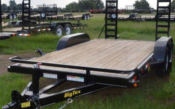 "Big Tex 83""x16' Pro Series Tandem Axle Equipment Trailer"