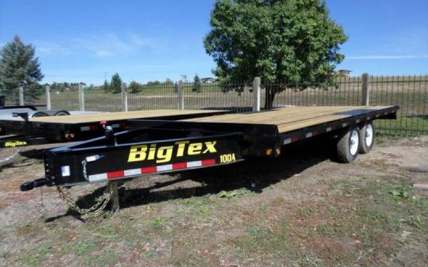 "Big Tex 102""x16' Tandem Axle Over the Axle"