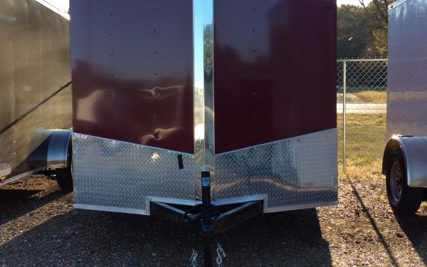 SPARTAN 7 X 12 ENCLOSED TRAILER