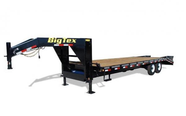 "Big Tex 102""x20'+5 Tandem Axle Gooseneck"