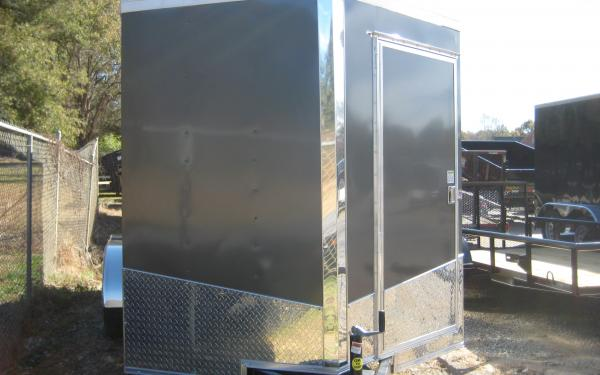 SPARTAN 7' X 14' ENCLOSED TRAILER - CHARCOAL GREY