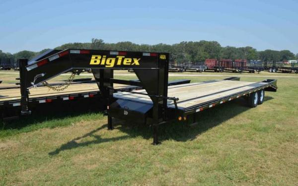 "Big Tex 102""x25+5 Tandem Axle Gooseneck"