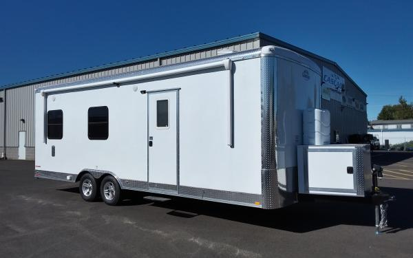 2019 CargoMate BL824TA3  8 x 24 Tandem Axle w/ Living Quarters