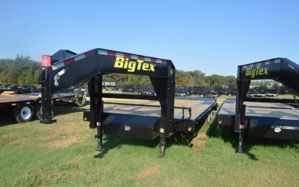Big Tex 25'+5' Heavy Duty Tandem Dual Axle Gooseneck