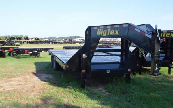 Big Tex 28'+5' Heavy Duty Tandem Dual Axle Gooseneck