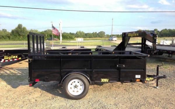 """Big Tex 60""""x8' Single Axle Vanguard"""