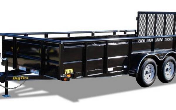 "Big Tex 83""x16' Tandem Axle Vanguard"