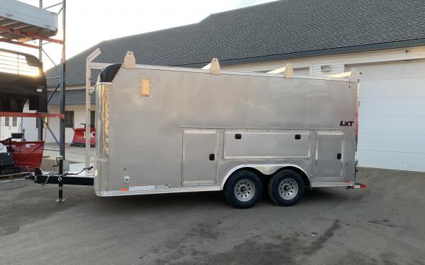 2020 Look LXT 85x16 barn door Contractor Pro 9990lb GVWR