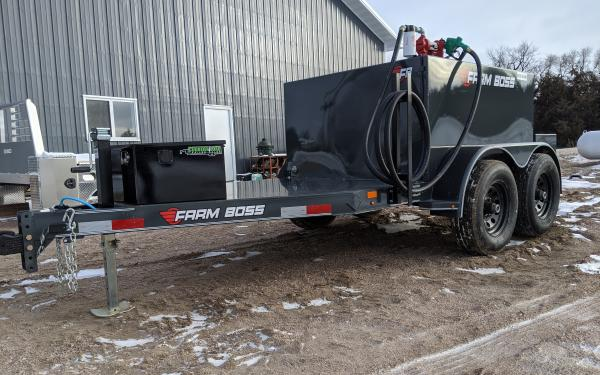 Farmboss 5x10 590 gal. Fuel Trailer