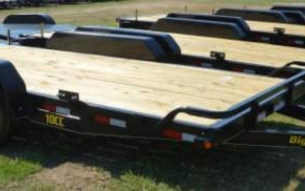 Big Tex Tandem Axle Equipment